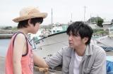 『TWO WEEKS』第5話に出演する鳥越壮真、村上淳 C)カンテレ