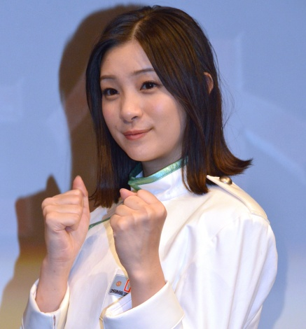 『逃走中』15周年プロジェクト発表会に登壇した足立梨花 (C)ORICON NewS inc.