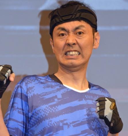 『逃走中』15周年プロジェクト発表会に登壇したアンガールズ・田中卓志 (C)ORICON NewS inc.