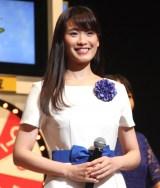 『サマージャンボ宝くじ抽せん会』に出席した近藤綾さん (C)ORICON NewS inc.