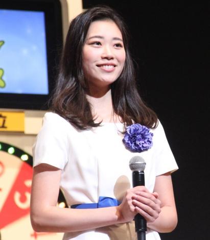 『サマージャンボ宝くじ抽せん会』に出席した幸運の女神・谷山美香さん (C)ORICON NewS inc.