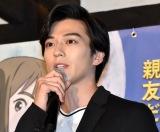 映画『二ノ国』の中高生限定スペシャルトークイベントに出席した新田真剣佑 (C)ORICON NewS inc.