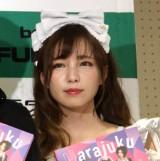 写真集『Harajuku Wonderland』発売記念お渡し会を開催した皆方由衣 (C)ORICON NewS inc.