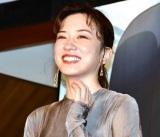 映画『二ノ国』の中高生限定スペシャルトークイベントに出席した永野芽郁 (C)ORICON NewS inc.