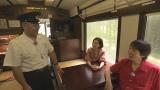 8月16日放送、NHK総合(東北ブロック)『サンテツがゆく』千原ジュニアとベッキーが三陸鉄道を旅する(C)NHK