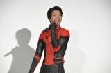 映画『スパイダーマン:ファー・フロム・ホーム』大ヒット記念舞台あいさつに登壇した伊藤健太郎