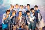 SUPER★DRAGONの3rdアルバム発売イベントに天龍源一郎がサプライズゲストとして登場