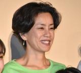映画『イソップの思うツボ』の初日舞台あいさつに出席した渡辺真起子 (C)ORICON NewS inc.