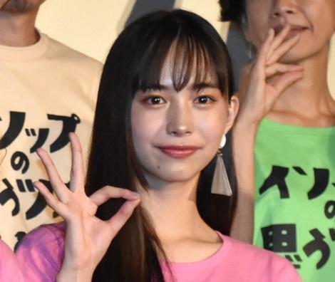 映画『イソップの思うツボ』の初日舞台あいさつに出席した井桁弘恵 (C)ORICON NewS inc.