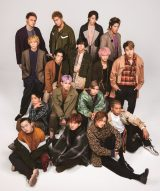 『smart』10月号の表紙を飾ったTHE RAMPAGE from EXILE TRIBE(撮影/TATSUYA YAMANAKA[STANFORD])