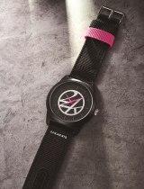 『smart』10月号付録「24KARATSブラックミリタリー腕時計」