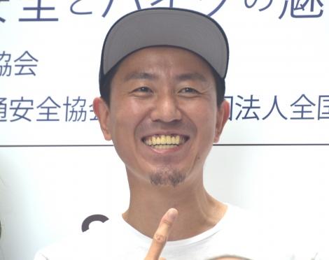 『8月19日はバイクの日 HAVE A BIKE DAY』に出席したチュートリアル・福田充徳 (C)ORICON NewS inc.