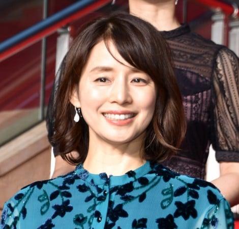映画『記憶にございません!』完成披露舞台あいさつに出席した石田ゆり子 (C)ORICON NewS inc.