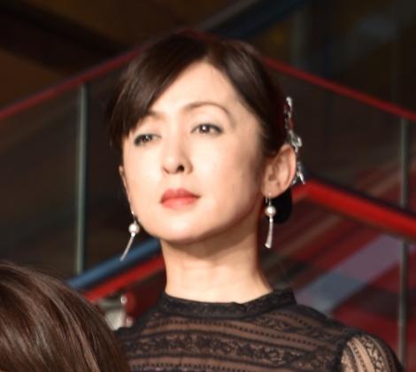 映画『記憶にございません!』完成披露舞台あいさつに出席した斉藤由貴 (C)ORICON NewS inc.