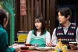 連続テレビ小説『なつぞら』第21週・第122回より。日本に帰ってきた麻子(貫地谷しほり)との再会を喜ぶなつ(広瀬すず)と坂場(中川大志)。アニメ製作会社を立ち上げた麻子は再び一緒にアニメを作らないかと持ちかける(C)NHK