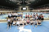 総勢34人が参加した『ドキッ! 下剋上 男だらけの水泳大会』(8月17日/愛知・日本ガイシアリーナ 競泳プール)