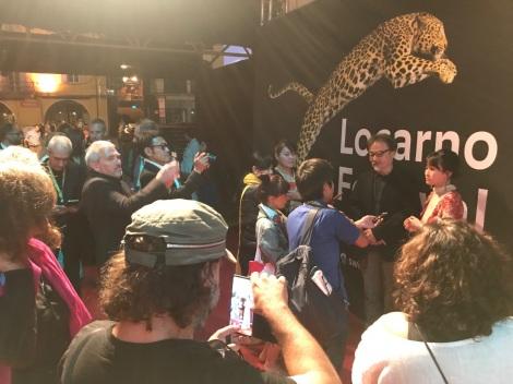 『第72回ロカルノ国際映画祭』の様子(C)2019「旅のおわり世界のはじまり」製作委員会/UZBEKKINO