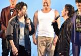 映画『HiGH&LOW THE WORST』最速プレミア試写会 レッドカーペットセレモニーに出席した(前列左から)山田裕貴、川村壱馬 (C)ORICON NewS inc.