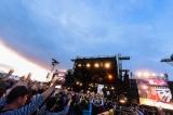 クロージングアクトを務めたDragon Ash(C)RISING SUN ROCK FESTIVAL 撮影:藤川正典