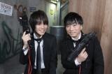 『ミューコミプラスTV』に出演する(左から)吉田尚記アナウンサー、関智一