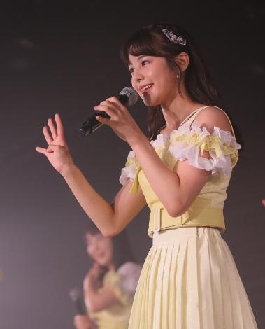 NGT48劇場で新公演『夢を死なせるわけにいかない』の初日を迎えたNGT48 (C)AKS