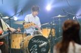 吉川美冴貴(Dr)=NHK総合『SONGS』より(C)NHK