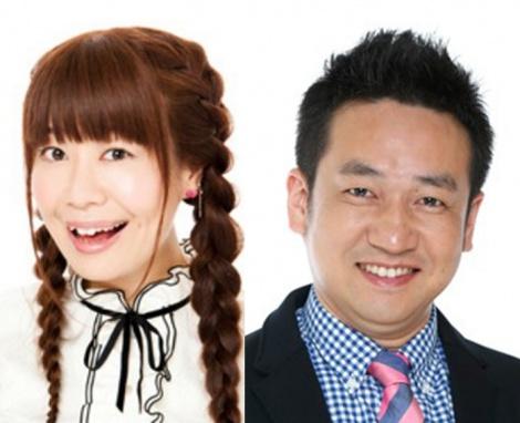 サムネイル 第1子出産を報告した梅小鉢・高田紗千子と夫のなすなかにし・中西茂樹