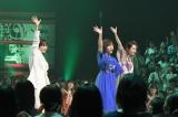 「パプリカ」を披露する(左から)高橋愛、岡田奈々、島袋寛子=UTAGE!』令和の夏!挑戦の夏!3時間スペシャルより(C)TBS