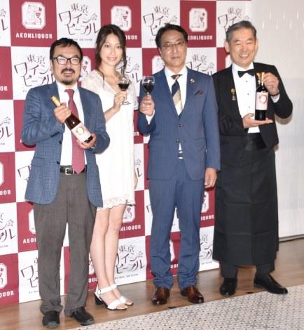映画『東京ワイン会ピープル』のPRイベントの模様 (C)ORICON NewS inc.