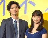 映画『アイネクライネナハトムジーク』完成披露上映会に出席した(左から)三浦春馬、多部未華子 (C)ORICON NewS inc.