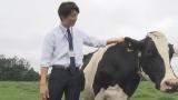 入社3年目の若手社員に扮する伊藤。9月3日から放送される『紅茶花伝 ロイヤルミルクティー』より