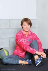理想のメンズスタイルを告白した市川華菜選手(陸上/短距離)=『smart』10月号より