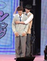 『第23回Seventeen夏の学園祭2019』に出演した(左から)佐野勇斗、鈴木仁 (C)ORICON NewS inc.