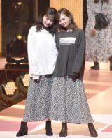 『第23回Seventeen夏の学園祭2019』に出演した(左から)久間田琳加、マーシュ彩 (C)ORICON NewS inc.