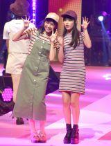 『第23回Seventeen夏の学園祭2019』に出演した(左から)杉本愛里、木内舞留 (C)ORICON NewS inc.