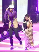 『第23回Seventeen夏の学園祭2019』に出演した(左から)中川大輔、坂井仁香 (C)ORICON NewS inc.