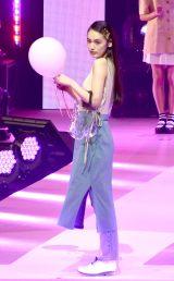 『第23回Seventeen夏の学園祭2019』に出演した八木莉可子 (C)ORICON NewS inc.