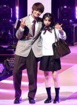 『第23回Seventeen夏の学園祭2019』に出演した(左から)佐野勇斗、桜田ひより (C)ORICON NewS inc.