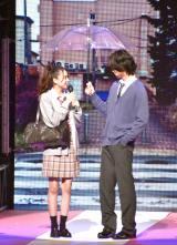 『第23回Seventeen夏の学園祭2019』に出演した(左から)田鍋梨々花、中川大輔 (C)ORICON NewS inc.