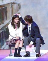 『第23回Seventeen夏の学園祭2019』に出演した(左から)永瀬莉子、板垣瑞生 (C)ORICON NewS inc.