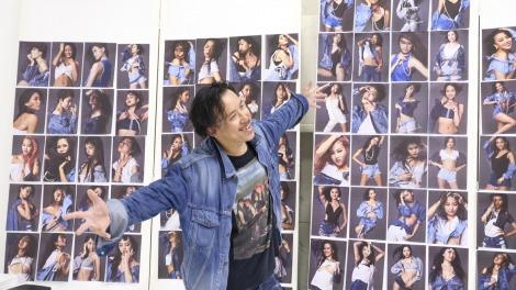 ファイナリストの撮影をおこなったレスリー・キー(C)Miss Universe Japan