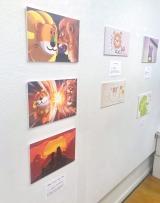 『たべっ子アニアってる展〜拡張するお絵かき〜』では過去の入賞作品含め約90作品を展示 (C)oricon ME inc.