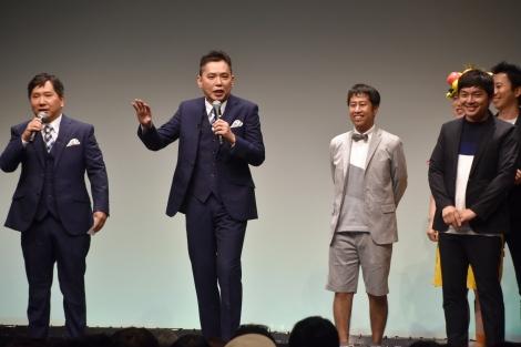お笑いライブ『タイタンライブ』8月公演に出演した爆笑問題とウエストランド (C)ORICON NewS inc.