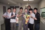 土曜ドラマ『ボイス 110緊急指令室』を木村祐一がクランクアップ (C)日本テレビ