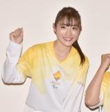 『東京2020パラリンピック 1年前カウントダウンセレモニー』に参加した石原さとみ (C)ORICON NewS inc.
