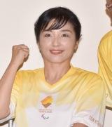 『東京2020パラリンピック 1年前カウントダウンセレモニー』に参加した田口亜希氏 (C)ORICON NewS inc.