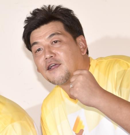 『東京2020パラリンピック 1年前カウントダウンセレモニー』に参加した富澤たけし (C)ORICON NewS inc.