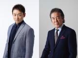 新番組『仮面ライダーゼロワン』(9月1日スタート)山本耕史(左)、西岡徳馬(右)の出演発表