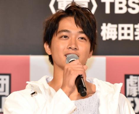 舞台『勇者のために鐘は鳴る』製作発表会見に出席した劇団EXILE・佐藤寛太 (C)ORICON NewS inc.
