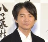 NHK・BSプレミアム『八つ墓村』記者会見に出席した吉岡秀隆 (C)ORICON NewS inc.